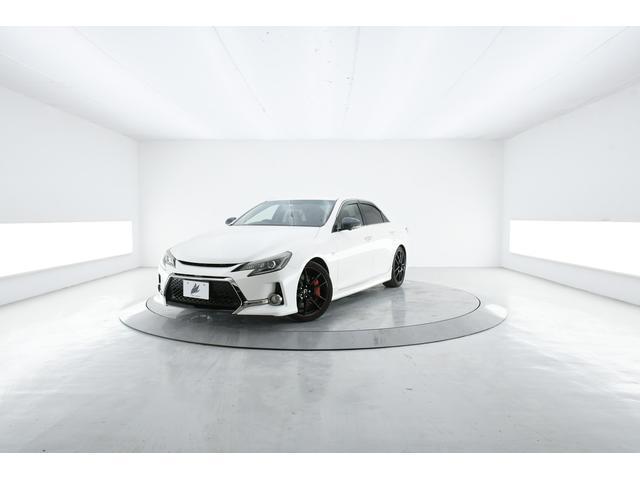 トヨタ マークX 350S G's 特別仕様車 純ナビ Bカメラ アルカンターラ