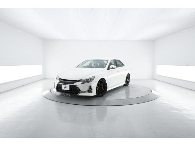 トヨタ マークX 350S G's TEIN車高調 柿本マフラ G's19AW フルエアロ