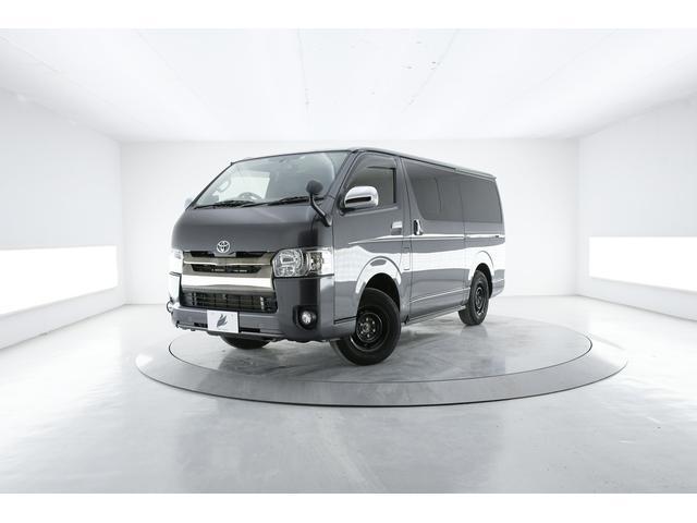 トヨタ レジアスエースバン スーパーGL ダークプライム 4WD SDナビバックカメラ スマートキー 半革