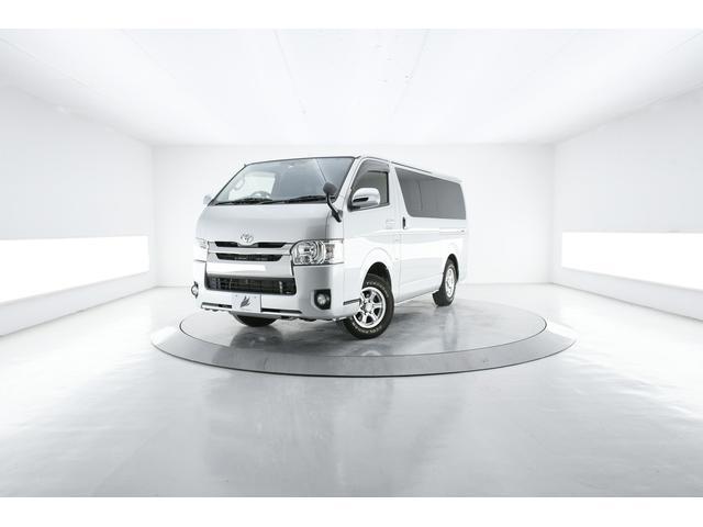 トヨタ レジアスエースバン ロングスーパーGL 4WD LED AC100V バックカメラ 純正SDナビ