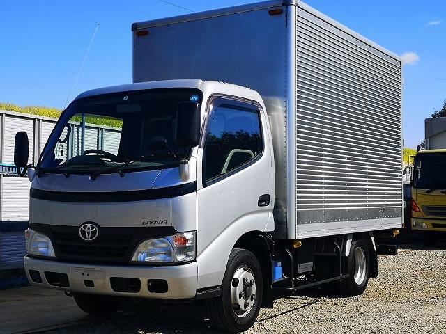 トヨタ ダイナ 2t 標準10尺アルミバン MT車