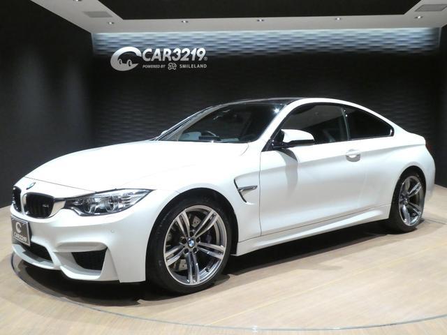 BMW M4クーペ ワンオーナー・6速MT・アルピンホワイトIII・HUD・Mサスペンション カーボンルーフ・Mキャリパー・Pスタート