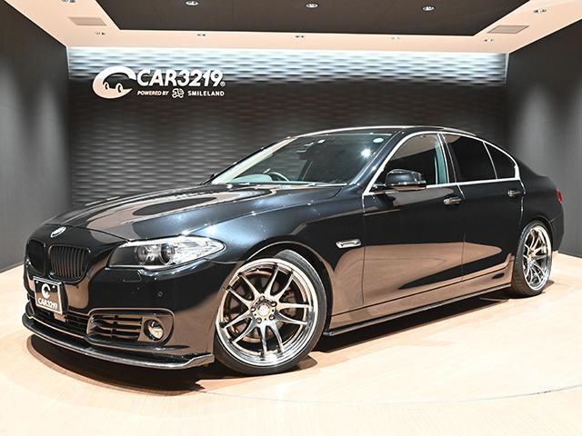 BMW 5シリーズ 523d ラグジュアリー ワークエモーション20インチAW・H&Rローダウン・アクティブクルーズ・ブラックグリル・HDDナビ・Sカメラ
