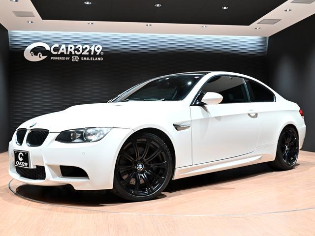 BMW M3クーペ 黒革・19インチアルミ・6速MT・Mドライブ・HDDナビ・ミラー型ETC・Rサンシェード・シートヒーター他