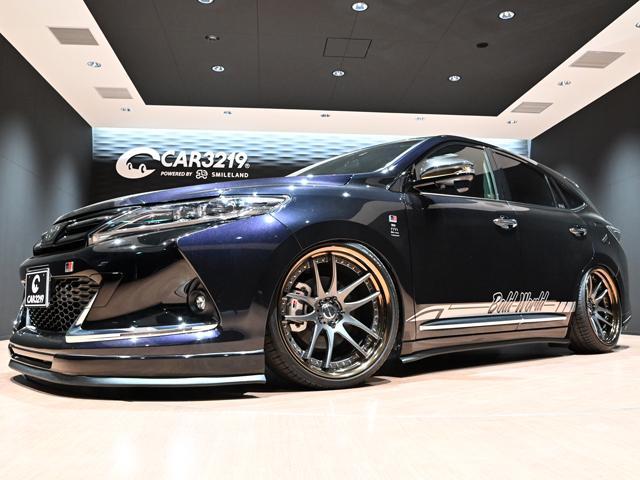 トヨタ エレガンス GRスポーツ ガナドールマフラー・BOLD WORLD エモーション21インチAW・サンルーフ・BIGーXナビ・オートハイビーム