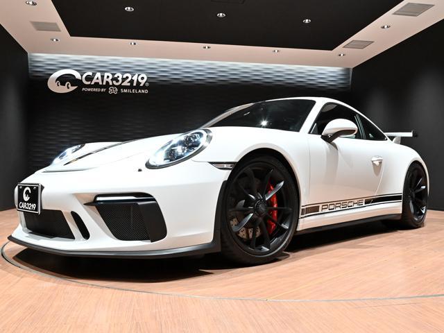 ポルシェ 911GT3 スポーツクロノパッケージ LEDヘッド スポーツエキゾースト フロントリフティング カーボンインテリアパッケージ レッドステッチハーフレザーパワーシートヒーター付 ナビ ETC2.0 ワンオーナー