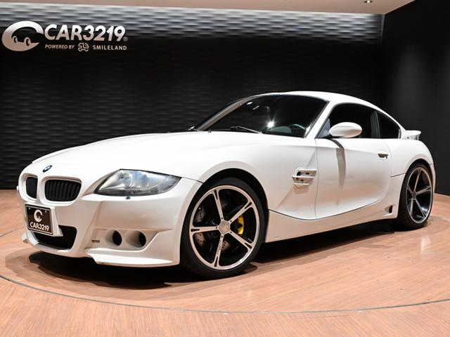 BMW Z4 Mクーペ ビルシュタイン車高調・19インチアルミ・ハーマンACシュニッサーエアロ・レカロシートサクラムマフラー
