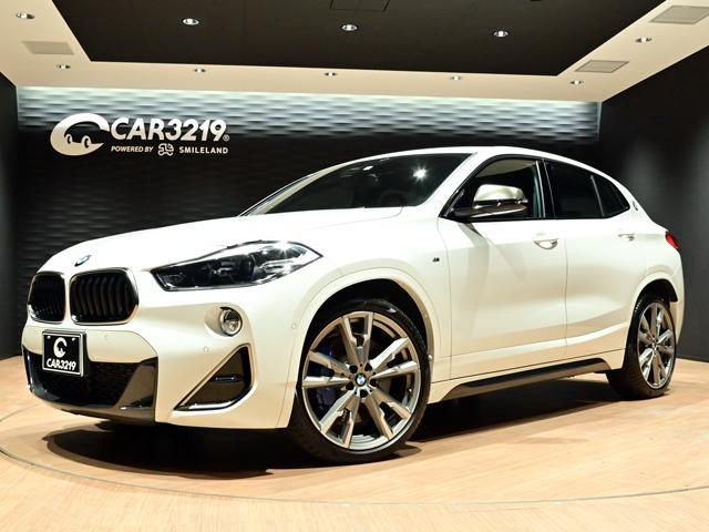BMW X2 M35i OPレッドパーフォレーション革シート/OPアロイ20インチ/純正HDDナビ/Mスポーツパッケージ/点検記録簿