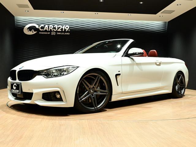 BMW 435iカブリオレ Mスポーツ LEDヘッドライト・レッドレーザーシート・Mスポーツ専用バンパー・ゼットパフォーマンスAW・左ハンドル