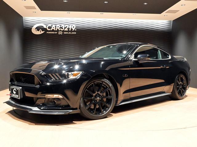 フォード マスタング GT 新車並行・走行証明・6速MT・ストラックタワーバーフロントリップ・リアスポイラー・純正19インチAW・革シート・シートヒーター