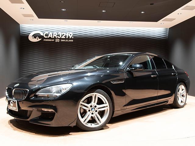 BMW 6シリーズ 640iグランクーペ Mスポーツパッケージ ユーザー買取車 スマートキー アイドリングストップ ハーフレザーパワーシート シートヒーター 純正HDDナビ ミラー一体型ETC バックカメラ フルセグテレビ ブルートゥースオーディオ スポーツモード