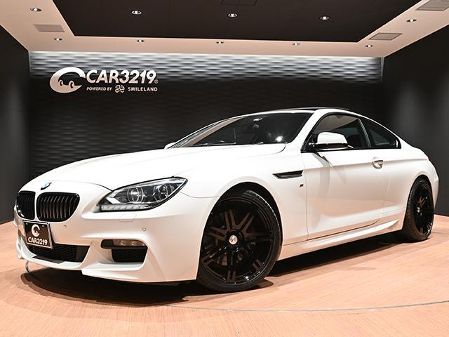 BMW 6シリーズ 640iクーペ Mスポーツパッケージ 黒革パワーシート・サンルーフ・パドルシフト・PIAAプレミアムフォージド20AW・ローダウン・純正ナビ・フルセグテレビ・DVD再・バックカメラ・クリアランスソナー・クルーズコントロール・HID・ETC