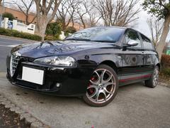 アルファ147ドゥカティ コルセ 200台限定車 黒革 キセノン 18AW