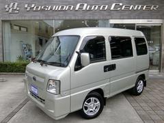 サンバーバンディアス 4WD 5速 CD リヤヒーター ABS 禁煙車
