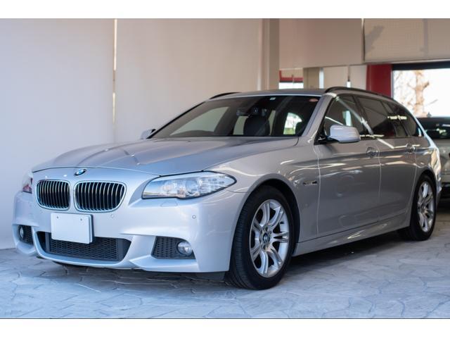 BMW 528iツーリング Mスポーツ サンルーフ 本革 純正ナビ