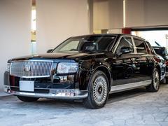 センチュリー登録済未使用車 黒革 タモ杢 OPフロアマット