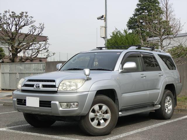 トヨタ ハイラックスサーフ SSR-X キーレス 純正ナビ サンルーフ ETC 取説 スペアキー