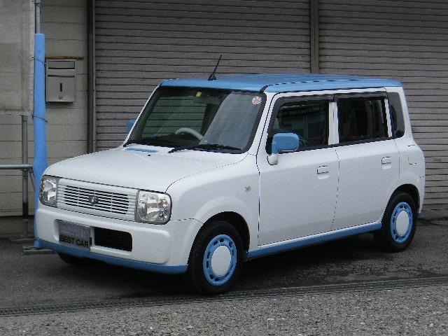 スズキ LリミテッドII  ルーフ オリジナルエアロ ブルー塗装