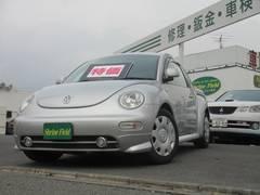 VW ニュービートルベースグレード ナビ付 ETC キーレス 前後スポイラー付