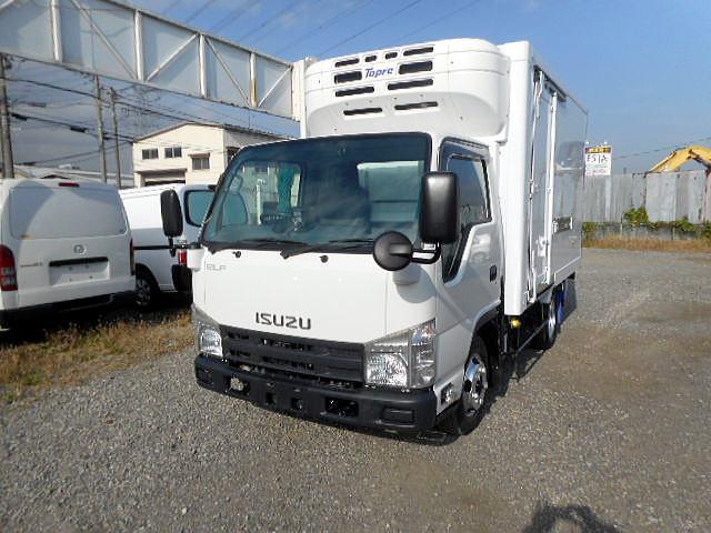 いすゞ エルフトラック 低温冷凍車−30℃2t10尺 スタンバイ装...
