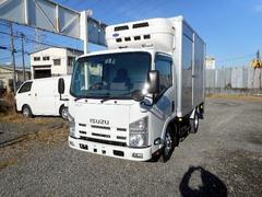エルフトラックセミロング中温冷凍車2.75tパワーゲート付 オートマ車