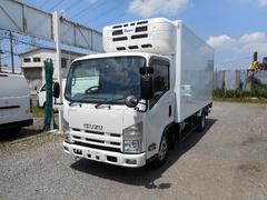 エルフトラック標準ロング中温冷凍車−5℃ パワーゲート スタンバイ装置付