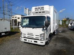 エルフトラック冷蔵冷凍車 冷凍車中温−5℃ ワイドロング 2室2エバ仕様