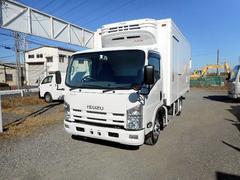 エルフトラック冷蔵冷凍車 冷凍車低温−30℃ ワイドロング オートマ車