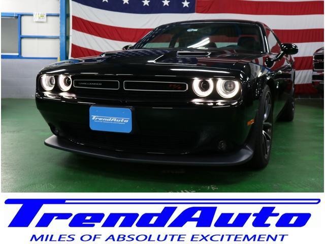 ダッジ R/T 392 HEMI 自社輸入新車並行車 V8-6.4L HEMI エンジン 8速AT ブレンボブレーキ アップルカープレイ アンドロイドオート HID エンスタ 純正ウーハー パドルシフト サンルーフ