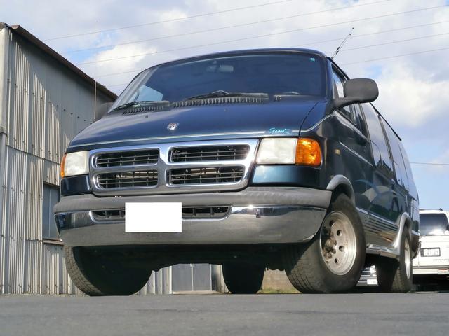 ダッジ 新車並行 V8 5900cc マキシロング 4列シート
