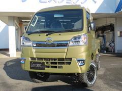 ハイゼットトラックジャンボ 4インチリフトアップ 4WD MT LEDヘッド