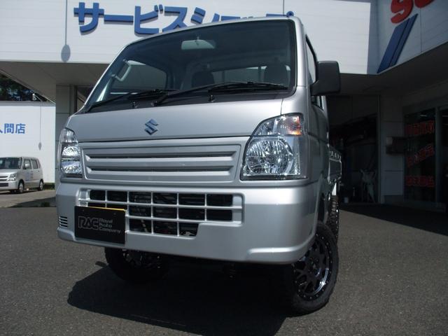 スズキ KCエアコン・パワステ 4WD 4インチアップ