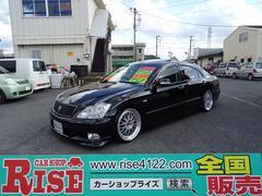 クラウンアスリート60thSPEDエアロSR黒革HDD車高調19AW