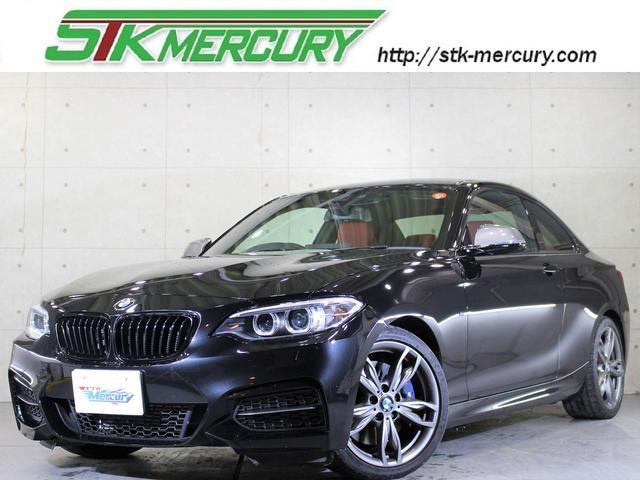 BMW M235iクーペ D新車保証 禁煙 Bカメ 赤革 純ナビ