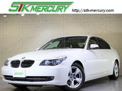 BMW525iハイライン禁煙純ナビMサーバーDVD再生黒革保証付