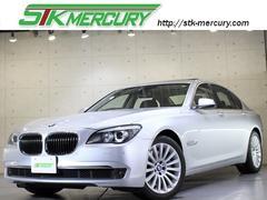 BMW750i自社保証禁煙黒革サンルーフDレコヘッドアップ電トラ