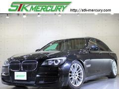 BMW740i MスポPKG車高調サンルーフ黒革Mスポ19AW