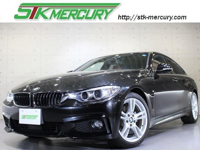 BMW 420iグランクーペ Mスポーツ 純ナビ赤革DアシストACC