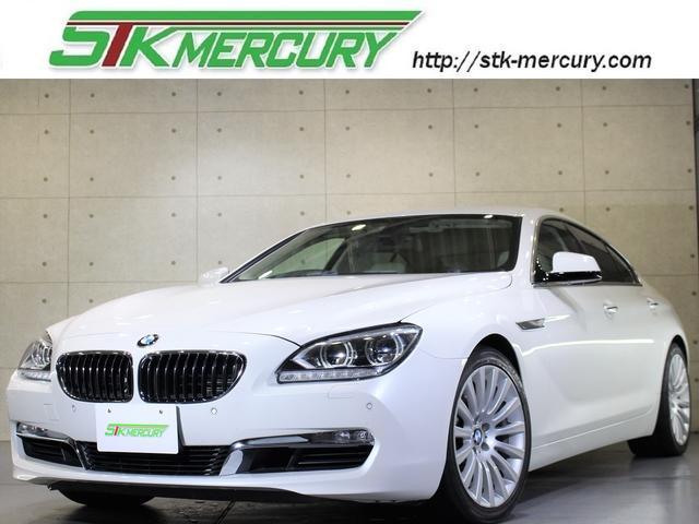 BMW 640iグランクーペ自保証ミネ白LEDライト冷暖席純19AW