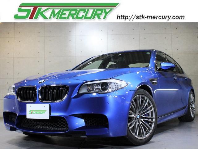 BMW M5 M5 純正HDDナビゲーション 地デジ Bカメラ ブルートゥース 外部入力端子 キセノン サンルーフ HUD 黒革 Pシート シートH シートA クルコン ミラーETC Pトランク 19AW 禁煙