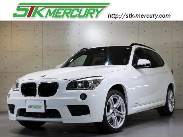 BMW X1 xDrive 20i Mスポーツ 後期・4WD・純正ナビ・バックカメラ・キセノン・コンフォートアクセス・AUX・USB・18インチMスポーツアルミ・CD録音・DVD再生・ETC・リアスモーク・Aストップ・