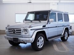 M・ベンツG550 ロング サンルーフ 本革シート 認定中古車