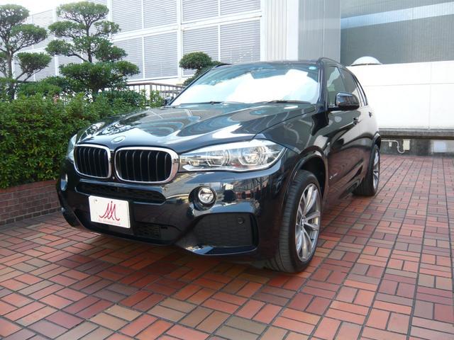 BMW Xドライブ35d Mスポーツ・黒革・SR・20AW