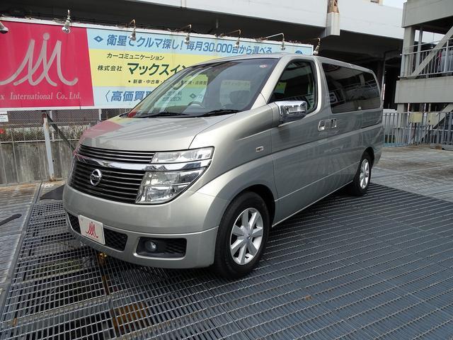 日産 XL350 4WD ツインサンルーフ 本革 純正ナビ