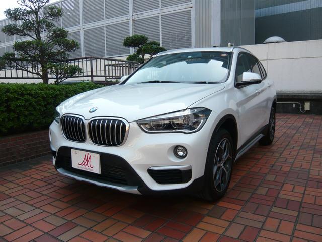 BMW xDrive 18d xライン ワンオーナー・走行7000キロ・ヒーター付黒革シート・ガラスルーフ・純正ナビ・ミラー内臓ETC・バックカメラ・ヘッドアップディスプレイ・18AW