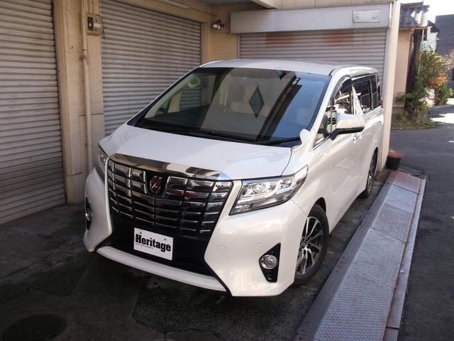 トヨタ 2.5X ローダウン 革シート ナビ/バックカメラ-地デジ