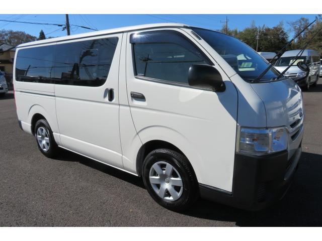 トヨタ ロングDX Wエアコン リアヒーター ナビ TVバックカメラ