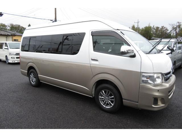 「トヨタ」「ハイエース」「ミニバン・ワンボックス」「千葉県」の中古車