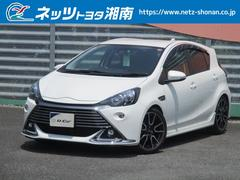 アクアG G's トヨタセーフティセンスC 自動ブレーキ SDナビ