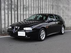 アルファスポーツワゴン2.5 V6 24V Qシステム 黒革 SR